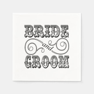 Design preto & branco da noiva & do noivo