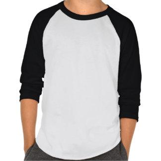 Design preto branco & do vermelho dos miúdos | dos tshirts