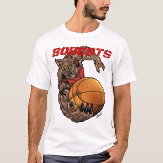 Design realístico da equipa de basquetebol do camiseta