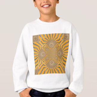 Design simétrico surpreendente nervoso bonito do t-shirts