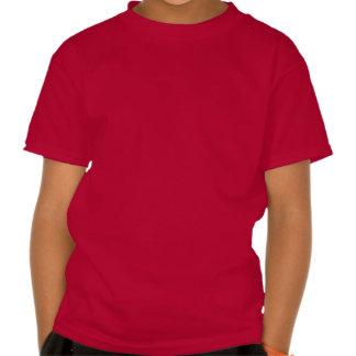 Design vermelho & do branco dos miúdos | dos camisetas