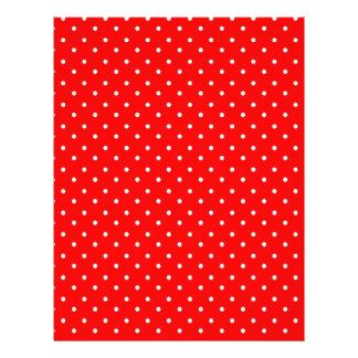 Design vermelho e branco da papoila das bolinhas modelos de panfleto