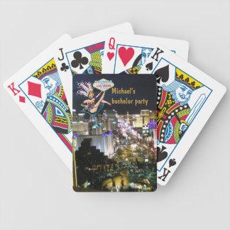Despedida de solteiro da tira de Las Vegas Baralhos De Poker