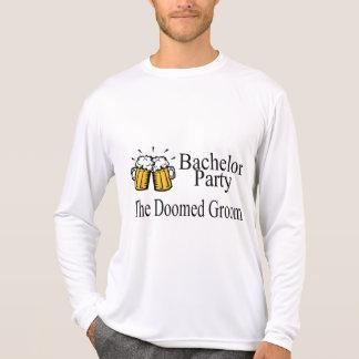 Despedida de solteiro o casamento condenado do noi t-shirts