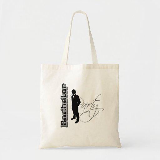 Despedida de solteiro - obrigado presentes do noiv bolsas para compras