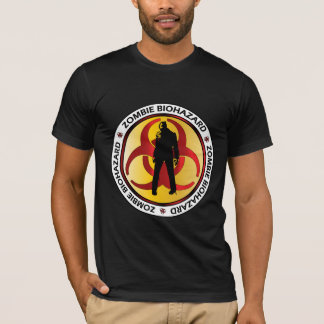 Desperdício do Biohazard do zombi Camisetas