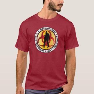 Desperdício do Biohazard do zombi T-shirt