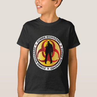 Desperdício do Biohazard do zombi T-shirts