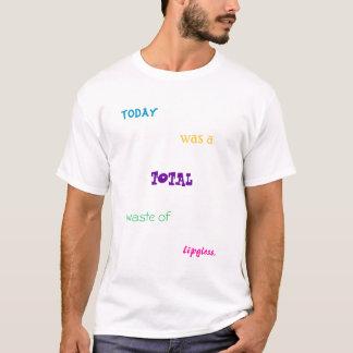 desperdício total camiseta