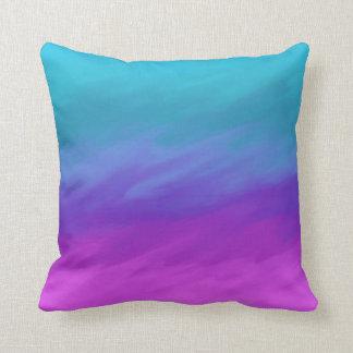 Desvaneça-se ao roxo travesseiros de decoração