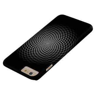 Desvaneça-se para enegrecer o verificador capas iPhone 6 plus barely there