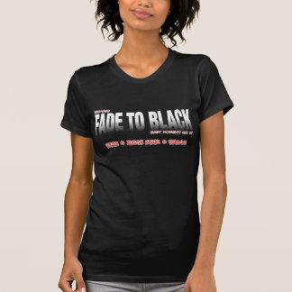 Desvaneça-se para enegrecer TFMU - CAMISA de Tshirt