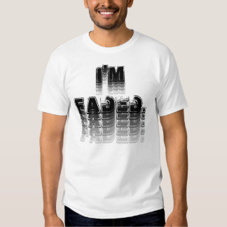 desvanecido camiseta