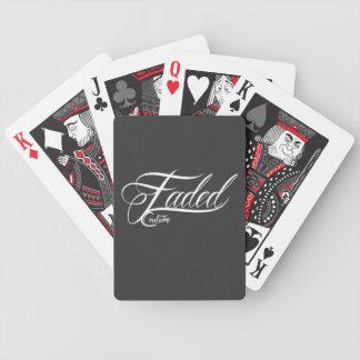 Desvanecido - cartões de jogo baralho de truco