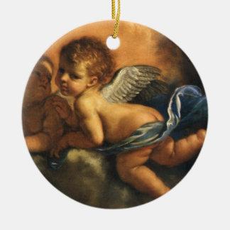 Detalhe do anjo, santos padroeiros de Modena por Ornamento De Cerâmica