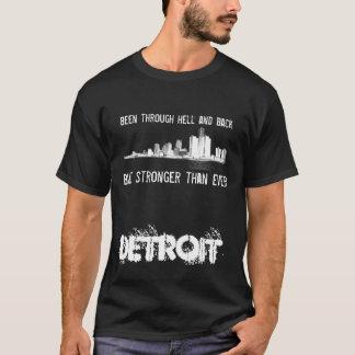 Detroit - mais fortemente do que nunca - skyline tshirts