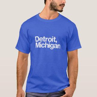 Detroit, Michigan Tshirt