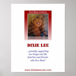 Deus abençoe América - Dixie Lee Pôster