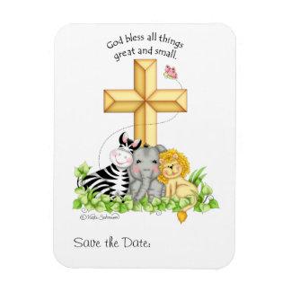 """""""Deus abençoe todas as coisas…"""" Imã salve a data"""