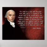 Deus de James Madison Impressão