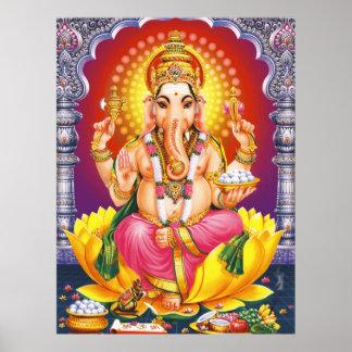 Deus Ganesha Pôsteres
