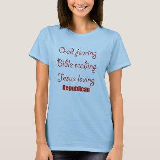 Deus que teme, leitura da bíblia, amor de Jesus Camisetas