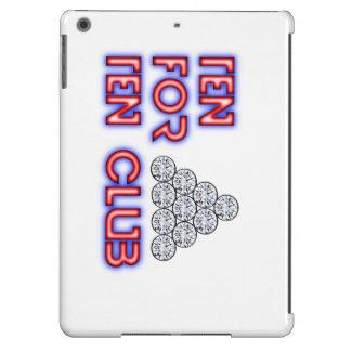 Dez para um caso de dez iPad Capa Para iPad Air