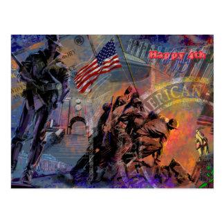 Dia da Independência & o 4 de julho Cartoes Postais