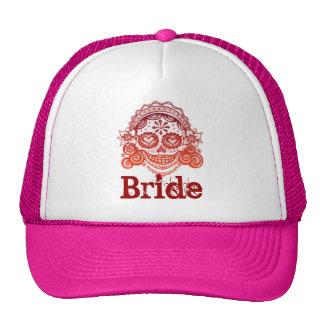 Dia da noiva do chapéu inoperante boné