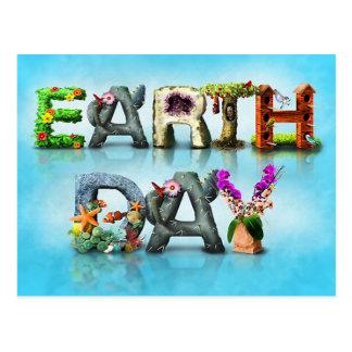 Dia da Terra Cartões Postais