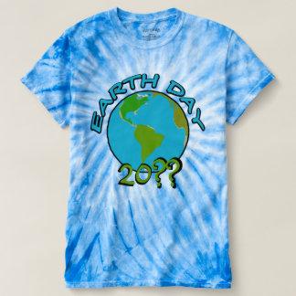 Dia da Terra com ano feito sob encomenda Tshirts