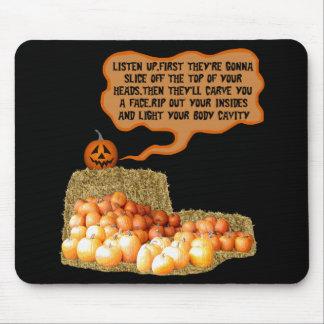 Dia das Bruxas engraçado Mouse Pad