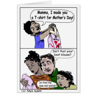 Dia das mães 2015 - Cartão da surpresa de Momma