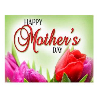 Dia das mães feliz cartões postais