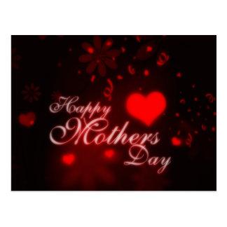 Dia das mães feliz cartão postal