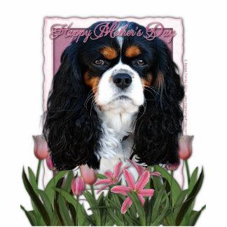 Dia das mães - tulipas cor-de-rosa - Cavalier - Tr Escultura De Foto