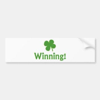 Dia de Charlie Sheen St Patrick de vencimento Adesivo