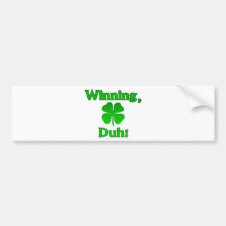 Dia de Charlie Sheen St Patrick de vencimento Adesivos