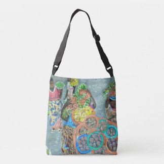 Dia de mercado, sacola bolsas carteiro