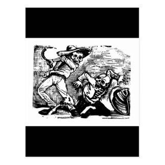 """Dia de México o """"do morto."""" cerca de 1894 Cartão Postal"""