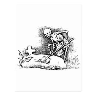 """Dia de México o """"do morto"""" cerca de 1949 Cartão Postal"""