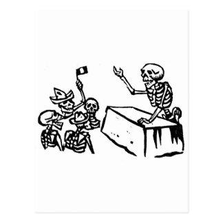 """Dia de México o """"do morto"""" """"Diâmetro de los Cartão Postal"""