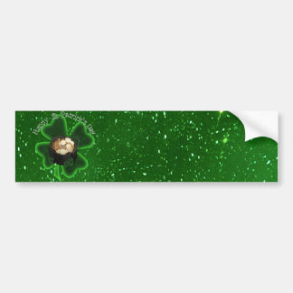 Dia de São Patrício feliz - toda verde Adesivo