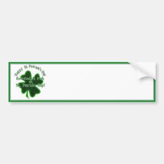 Dia de São Patrício - todos irlandês Adesivos