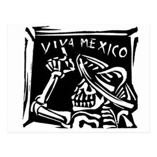 """Dia de Viva México México """"do inoperante """" Cartoes Postais"""