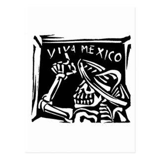"""Dia de Viva México México """"do inoperante """" Cartão Postal"""