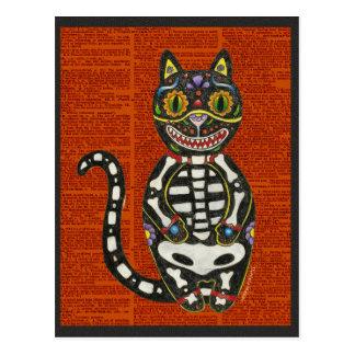 Dia do gato inoperante cartão postal