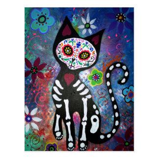 Dia do gato inoperante por Prisarts Cartão Postal