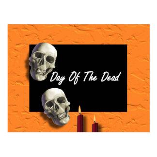 Dia do morto cartao postal
