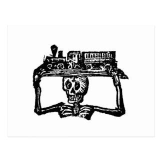 """""""Dia do morto"""" cerca de 1800's Cartão Postal"""
